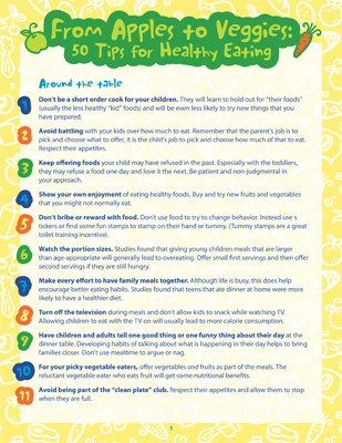 Healthy eating tips for adults 50