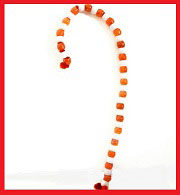 Candy Cane Bead