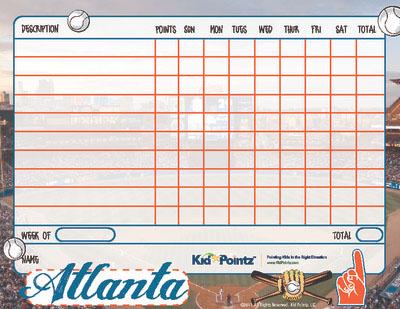 photo regarding Atlanta Braves Printable Schedule named Printable Chart Athletics Employees Topic Youngster Pointz