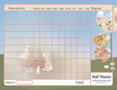 Kids Charts: Easter Theme