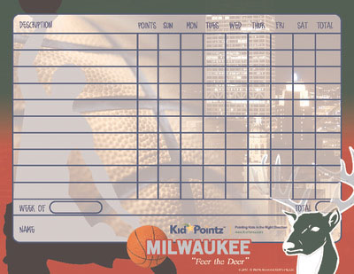 graphic about Milwaukee Bucks Schedule Printable named Printable Chart Athletics Workers Concept Little one Pointz
