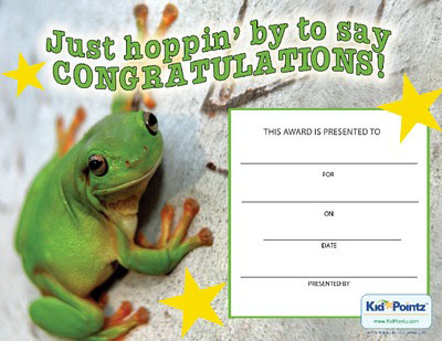 Free Congratulations Certificates for Kids – Congratulations Certificate