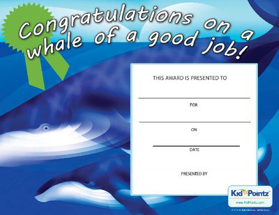 Free Congratulations Certificates for Kids – Congratulations Award Template