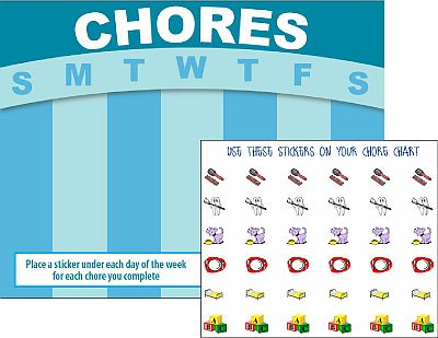Childrens Charts for Chores