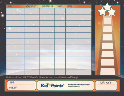 Child Chart with Goal