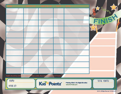 Children Charts with Goal