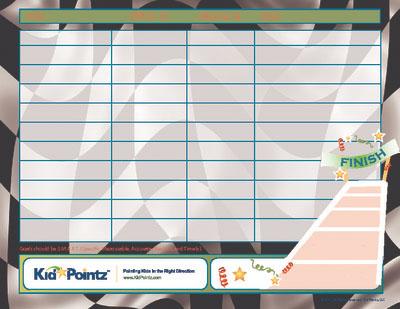Children's Goal Charts
