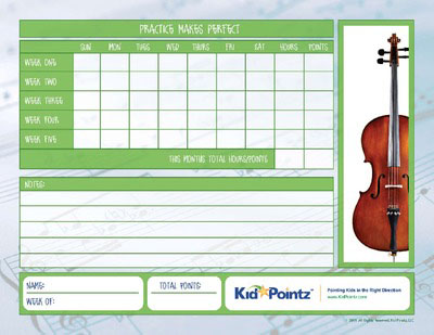 photograph about Music Practice Chart Printable Free named Tunes Teach Charts Baby Pointz