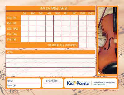 graphic about Music Practice Chart Printable Free named Little ones New music Educate Charts Month to month Timetable Youngster Pointz