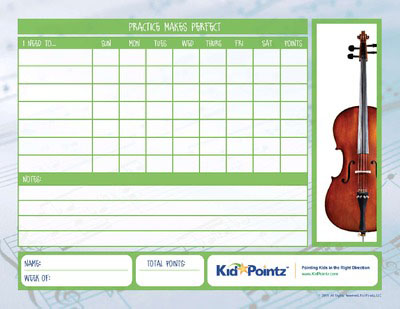 Inventive image pertaining to music practice chart printable free
