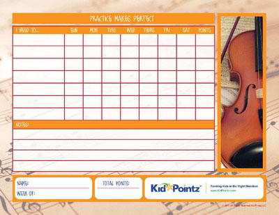 Music Practice: Violin