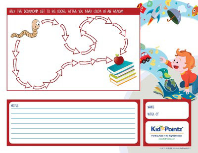 Child Reading Charts Print at Home – Progress Chart for Kids