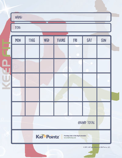 FREE Weekly Behavior Chart for Teenagers, ACN Latitudes