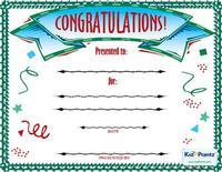 Congratulations Award