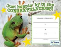 Certificate of Congratulations