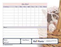 Pet Care Charts