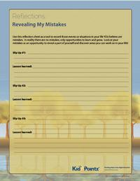 Revealing My Mistakes