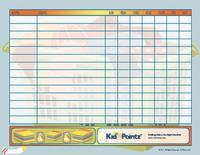 Behavior Charts with Chores for Children