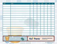 Chore Chart for the Family