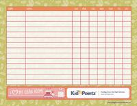 Charts for Kids: Family Chore List