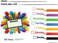 Reward Charts for Kids   Childrens Reward Charts: Kid Pointz